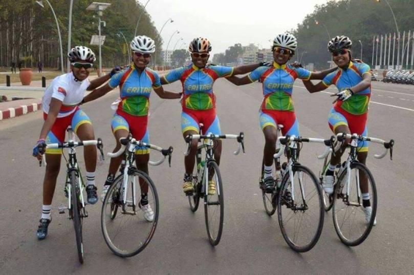 eritrea damcyklister